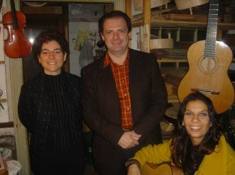 Montse Madridejos, Stefano Grondona, Laura Mondiello, 2005.