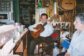 Stefano Grondona y Mercè Crehuet (alumna de Llobet)