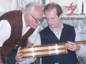 Con Stefano Grondona y la guitarra cumbre de Antonio de Torres