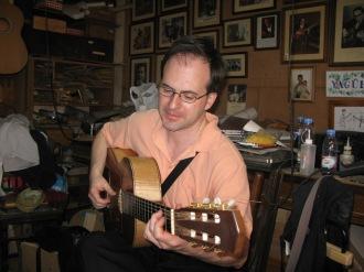 Alberto Noriega, el mago de la guitarra, 2010