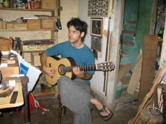 Elias Bonet, luthier y guitarrista, 2010