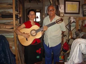 """Guitarra """"La cebra"""""""