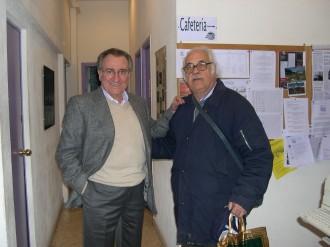 Con Manolo Escobar en la Escuela de Música Jam Session