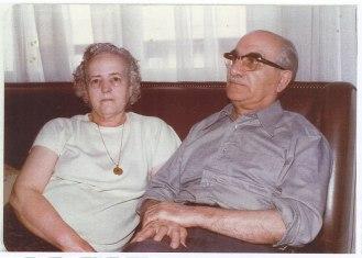 Mariano Yagüe y Juana Díez, padres de Ismael y Raúl Yagüe